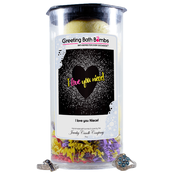 I love you Niece! | Greeting Bath Bombs®-Jewelry Bath Bombs-The Official Website of Jewelry Candles - Find Jewelry In Candles!