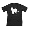 I Love My Burmilla | Must Love Cats® White On Black Short Sleeve T-Shirt-Must Love Cats® T-Shirts-The Official Website of Jewelry Candles - Find Jewelry In Candles!