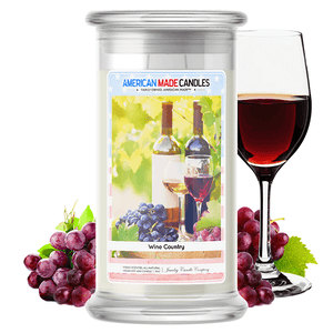 Wine Country | American Made Candle®-American Made Candles | Family Owned. American Made. Jewelry Candles-The Official Website of Jewelry Candles - Find Jewelry In Candles!