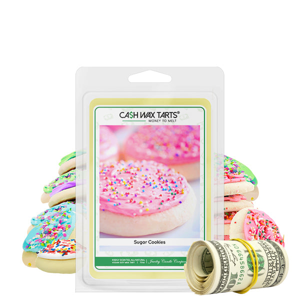 Sugar Cookies | Cash Wax Melt-Cash Wax Melts-The Official Website of Jewelry Candles - Find Jewelry In Candles!