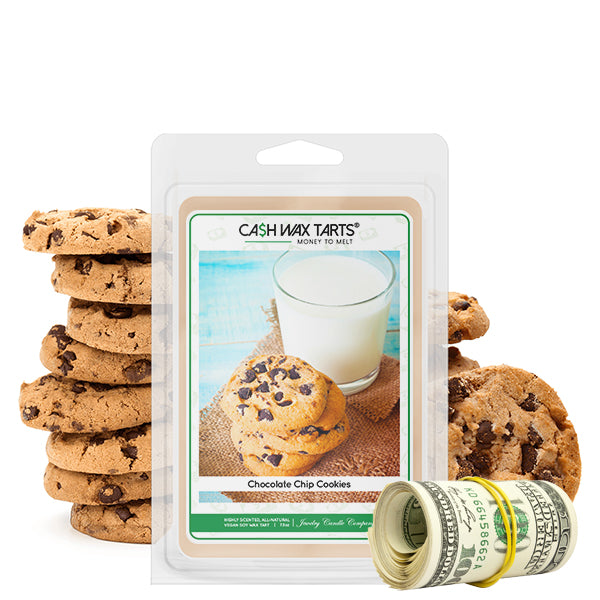 Chocolate Chip Cookies | Cash Wax Melt-Cash Wax Melts-The Official Website of Jewelry Candles - Find Jewelry In Candles!