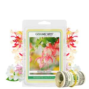 Honeysuckle Jasmine | Cash Wax Melt-Cash Wax Melts-The Official Website of Jewelry Candles - Find Jewelry In Candles!