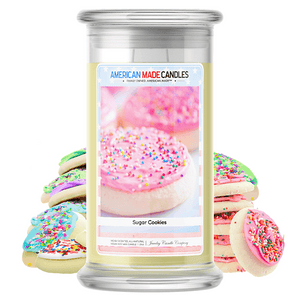 Sugar Cookies | American Made Candle®-American Made Candles | Family Owned. American Made. Jewelry Candles-The Official Website of Jewelry Candles - Find Jewelry In Candles!