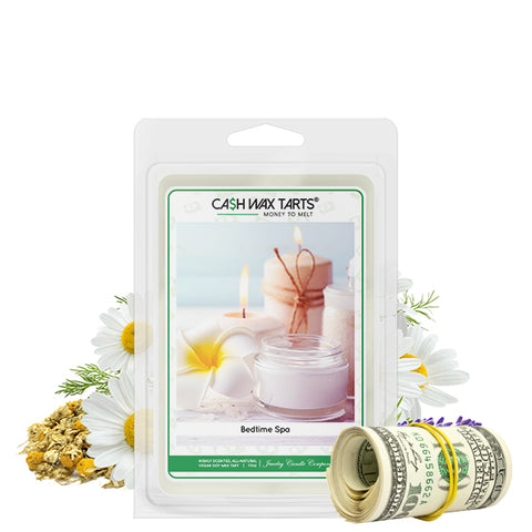 Bedtime Spa | Cash Wax Melt-Cash Wax Melts-The Official Website of Jewelry Candles - Find Jewelry In Candles!