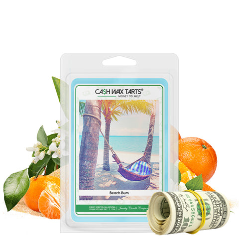 Beach Bum | Cash Wax Melt-Cash Wax Melts-The Official Website of Jewelry Candles - Find Jewelry In Candles!