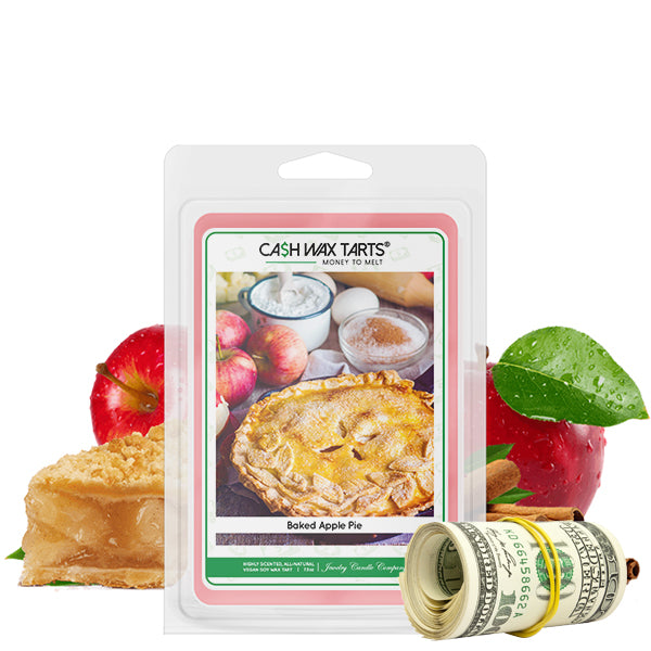 Baked Apple Pie Cash Wax Melt Jewelry Candles
