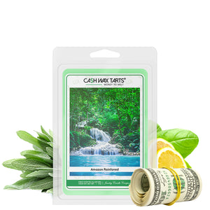 Amazon Rainforest | Cash Wax Melt-Cash Wax Melts-The Official Website of Jewelry Candles - Find Jewelry In Candles!