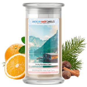 Smoky Mountains Cabin | American Made Candle®-American Made Candles | Family Owned. American Made. Jewelry Candles-The Official Website of Jewelry Candles - Find Jewelry In Candles!