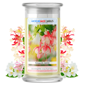Honeysuckle Jasmine | American Made Candle®-American Made Candles | Family Owned. American Made. Jewelry Candles-The Official Website of Jewelry Candles - Find Jewelry In Candles!