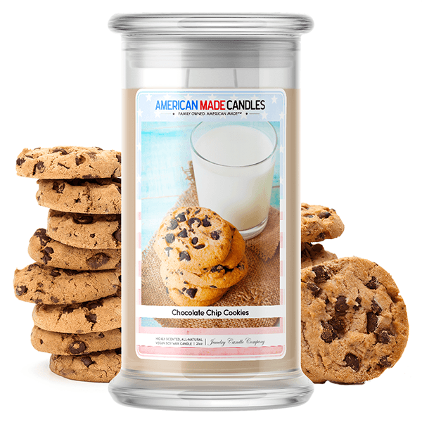 Chocolate Chip Cookies | American Made Candle®-American Made Candles | Family Owned. American Made. Jewelry Candles-The Official Website of Jewelry Candles - Find Jewelry In Candles!