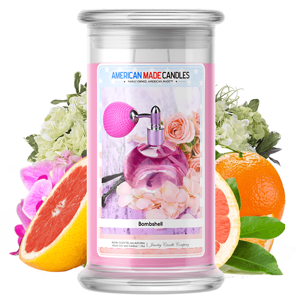 Bombshell | American Made Candle®-American Made Candles | Family Owned. American Made. Jewelry Candles-The Official Website of Jewelry Candles - Find Jewelry In Candles!