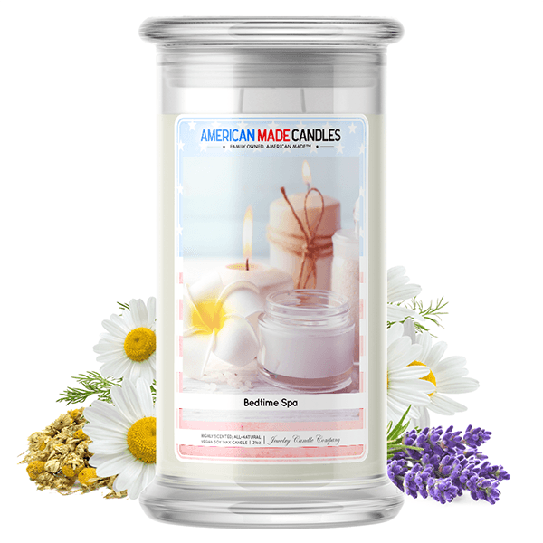 Bedtime Spa | American Made Candle®-American Made Candles | Family Owned. American Made. Jewelry Candles-The Official Website of Jewelry Candles - Find Jewelry In Candles!