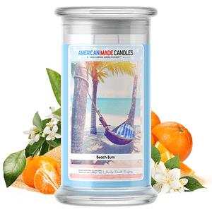 Beach Bum | American Made Candle®-American Made Candles | Family Owned. American Made. Jewelry Candles-The Official Website of Jewelry Candles - Find Jewelry In Candles!