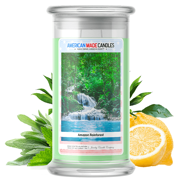 Amazon Rainforest | American Made Candle®-American Made Candles | Family Owned. American Made. Jewelry Candles-The Official Website of Jewelry Candles - Find Jewelry In Candles!
