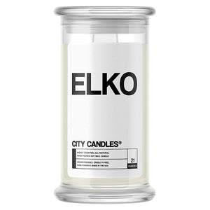 Elko City Candle
