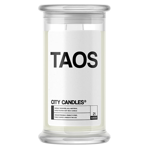 Taos City Candle