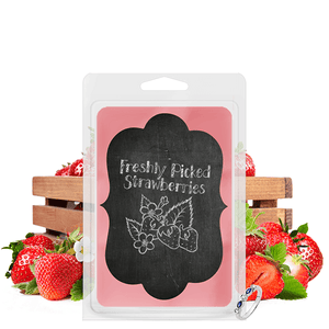 Freshly Picked Strawberries | Chalkboard Tart-Tarts-The Official Website of Jewelry Candles - Find Jewelry In Candles!