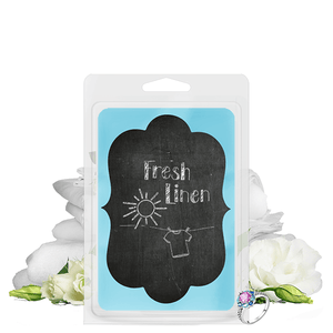 Fresh Linen | Chalkboard Tart-Tarts-The Official Website of Jewelry Candles - Find Jewelry In Candles!