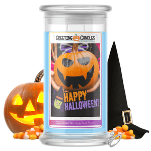 Happy Halloween! | Halloween Greeting Candles-You're Fang-tastic! Jewelry Greeting Cards Candles-The Official Website of Jewelry Candles - Find Jewelry In Candles!