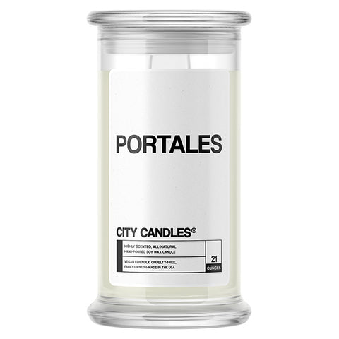 Portales City Candle