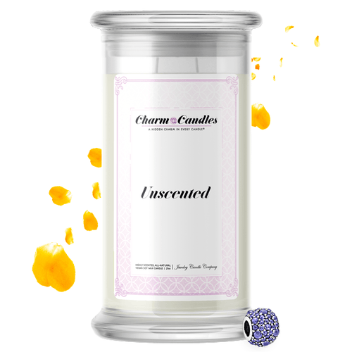 Unscented | Charm Candle®-Charm Candles®-The Official Website of Jewelry Candles - Find Jewelry In Candles!