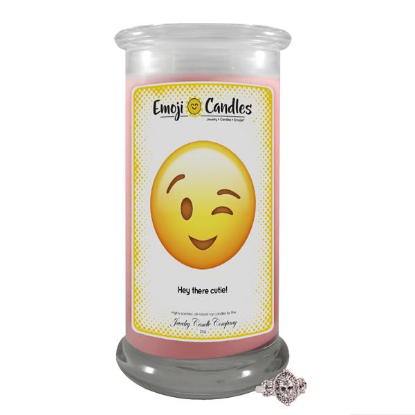 Hey There Cutie! | Emoji Candle®-Emoji Candles-The Official Website of Jewelry Candles - Find Jewelry In Candles!