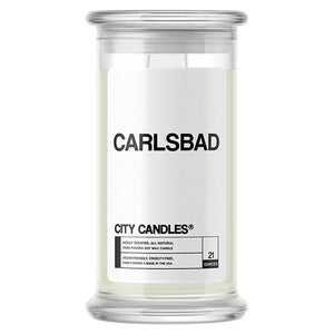Carlsbad City Candle