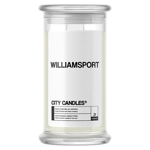 Williamsport City Candle