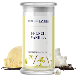 French Vanilla | Pearl Candle®-Pearl Candles®-The Official Website of Jewelry Candles - Find Jewelry In Candles!