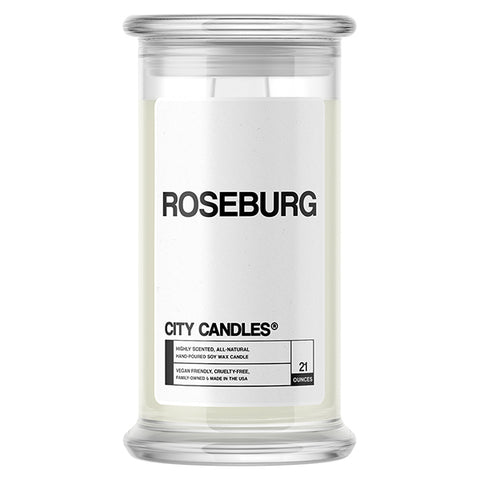 Roseburg City Candle