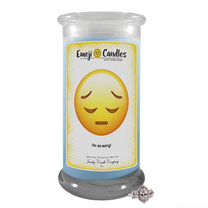 I'm So Sorry! | Emoji Candle®-Emoji Candles-The Official Website of Jewelry Candles - Find Jewelry In Candles!