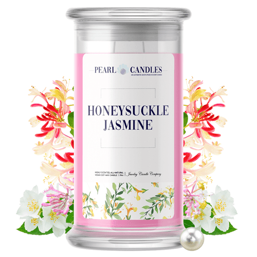 Honeysuckle Jasmine | Pearl Candle®-Pearl Candles®-The Official Website of Jewelry Candles - Find Jewelry In Candles!