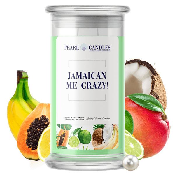 Jamaican Me Crazy! | Pearl Candle®-Pearl Candles®-The Official Website of Jewelry Candles - Find Jewelry In Candles!