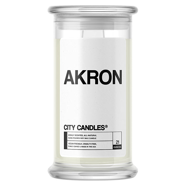Akron City Candle