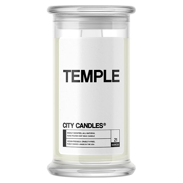 Temple City Candle