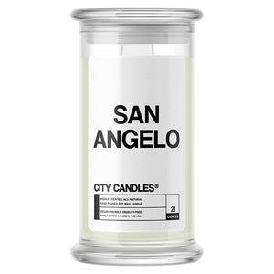 San Angelo City Candle
