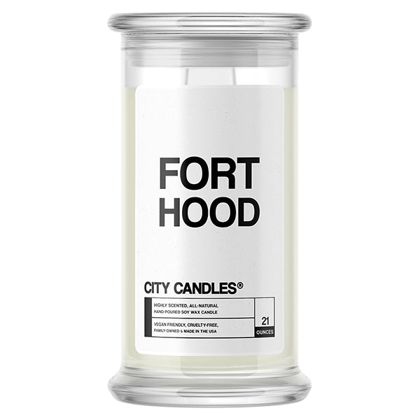 Fort Hood City Candle