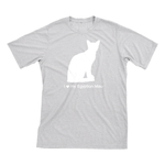 I Love My Egyptian Mau | Must Love Cats® White On Heathered Grey Short Sleeve T-Shirt-Must Love Cats® T-Shirts-The Official Website of Jewelry Candles - Find Jewelry In Candles!