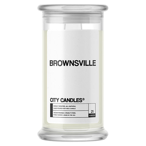Brownsville City Candle