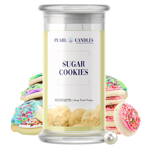 Sugar Cookies | Pearl Candle®-Pearl Candles®-The Official Website of Jewelry Candles - Find Jewelry In Candles!