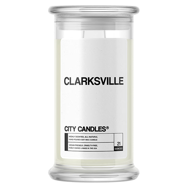Clarksville City Candle