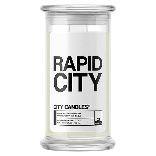Rapid City City Candle