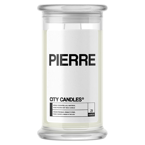 Pierre City Candle