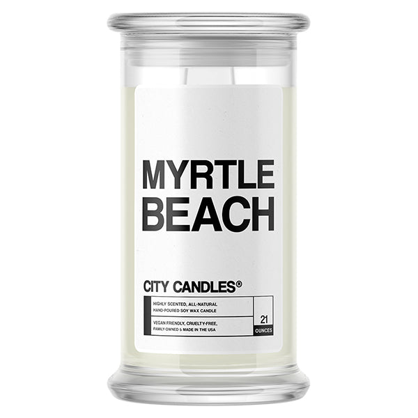 Myrtle Beach City Candle