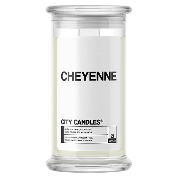 Cheyenne City Candle