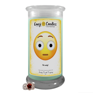 No way! | Emoji Candle®-Emoji Candles-The Official Website of Jewelry Candles - Find Jewelry In Candles!