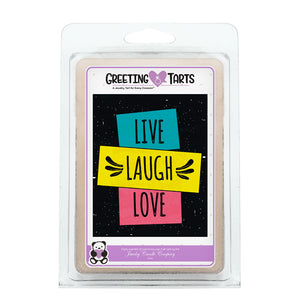 Live, Laugh, Love | Greeting Tart-Greeting Tarts-The Official Website of Jewelry Candles - Find Jewelry In Candles!