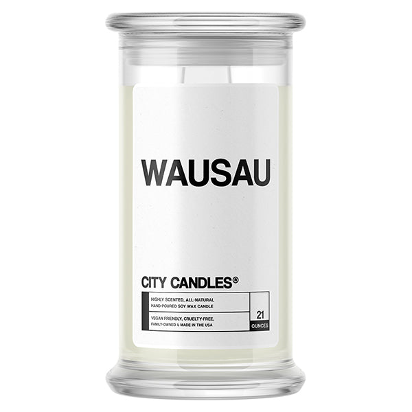 Wausau City Candle