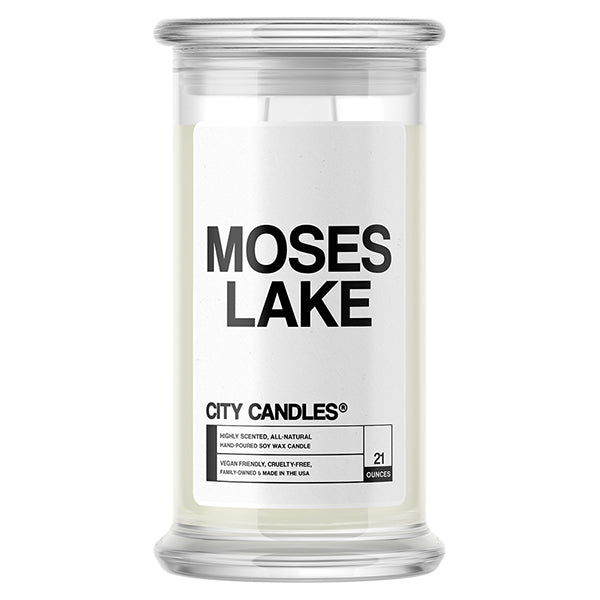 Moses Lake City Candle