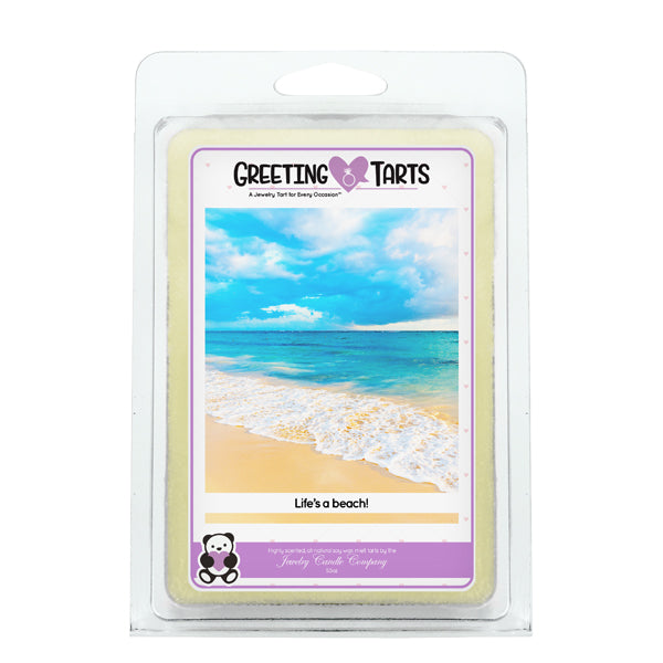 Life's A Beach! | Greeting Tart-Greeting Tarts-The Official Website of Jewelry Candles - Find Jewelry In Candles!